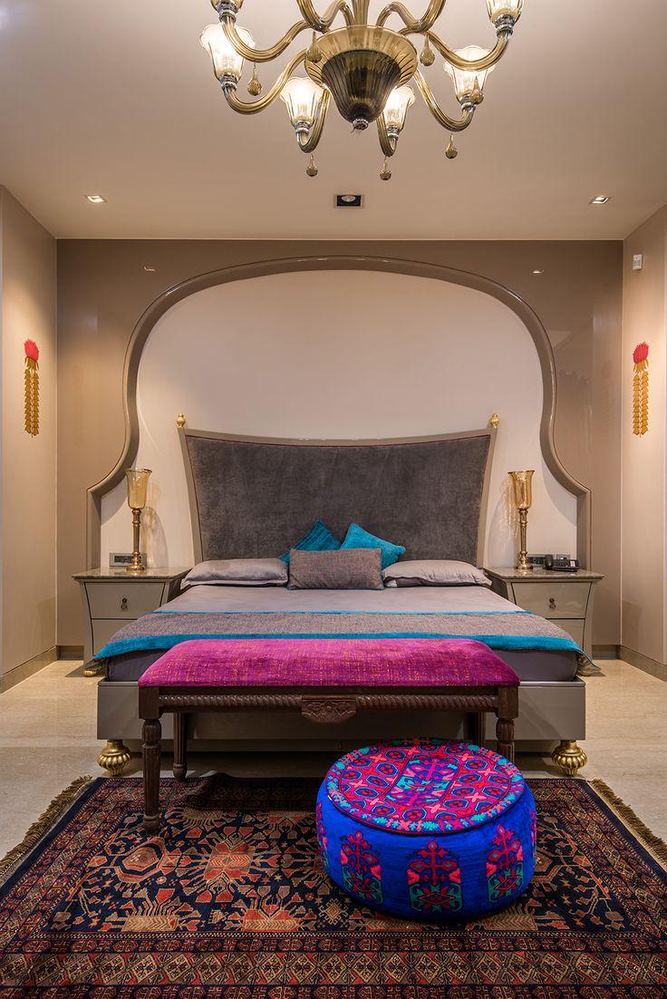Indian Interiors, Bedroom Designs, Jaipur, Ethnic