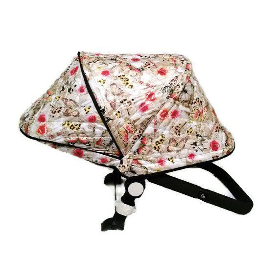 Wonderful winter extendable canopy for Bugaboo Cameleon stroller.