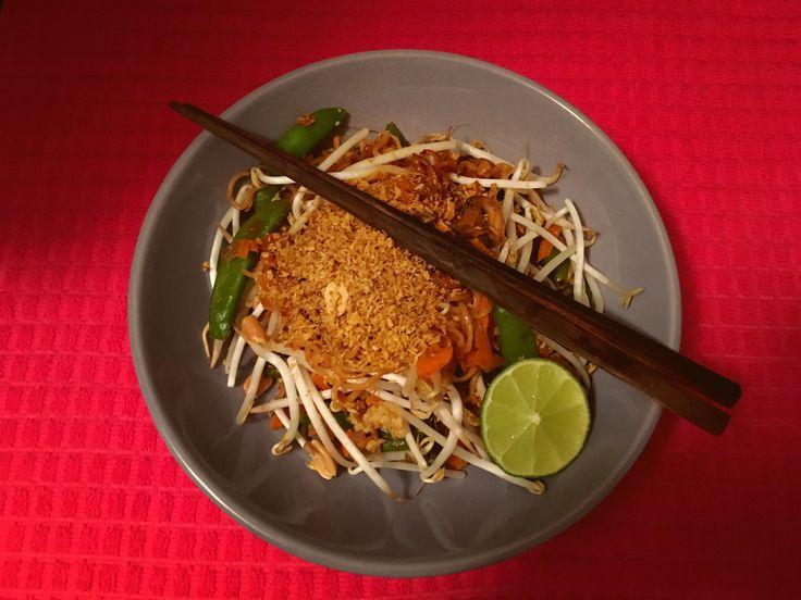 Dinner: Vegetarische pad thai