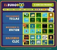 BUHOBOO - Conjunto de juegos sobre animales a través de los cuales podremos realizar un acercamiento al uso del ordenador. WikiDidácTICa
