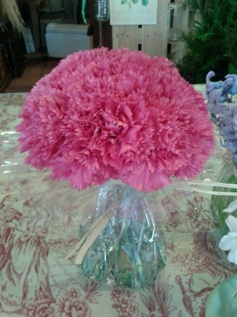 Carnations water bouquet