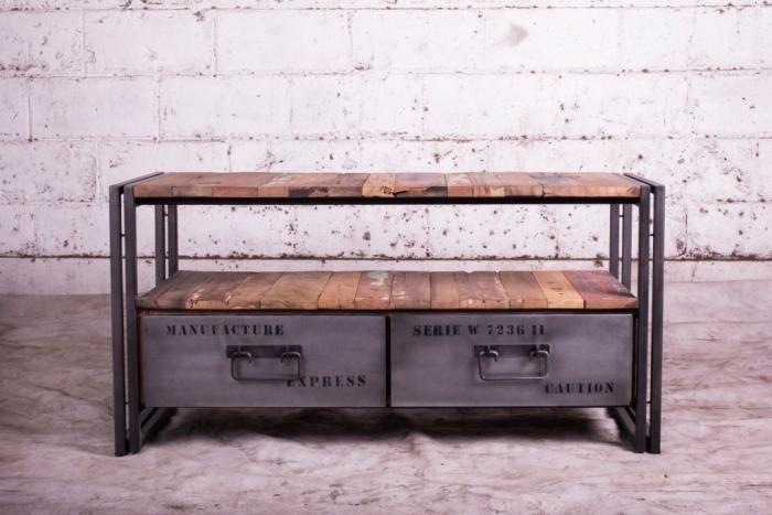meuble tv 112 cm evasion 2 tiroirs id es d co vrac pinterest art et tvs. Black Bedroom Furniture Sets. Home Design Ideas