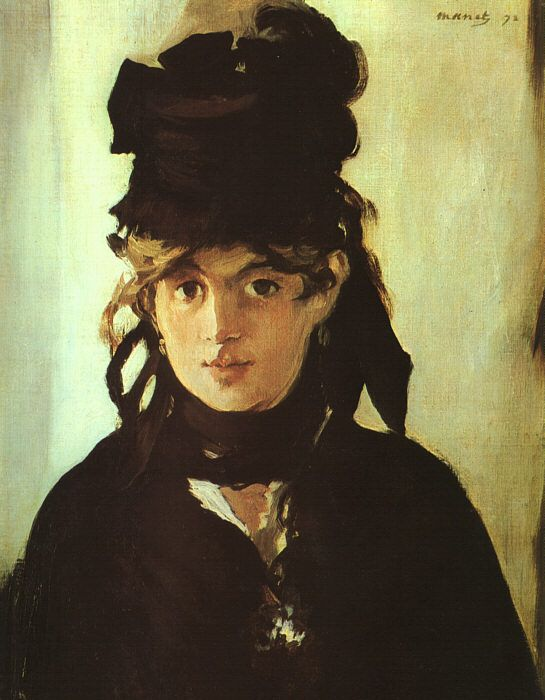 Edouard Manet. Berthe Morisot Holding a Bunch of Violets, 1872