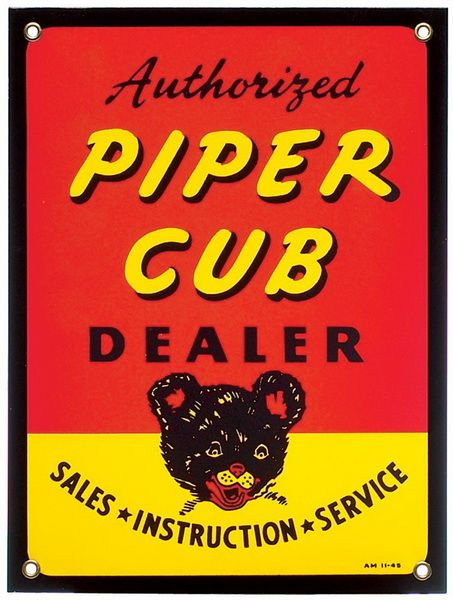 the piper cub poster