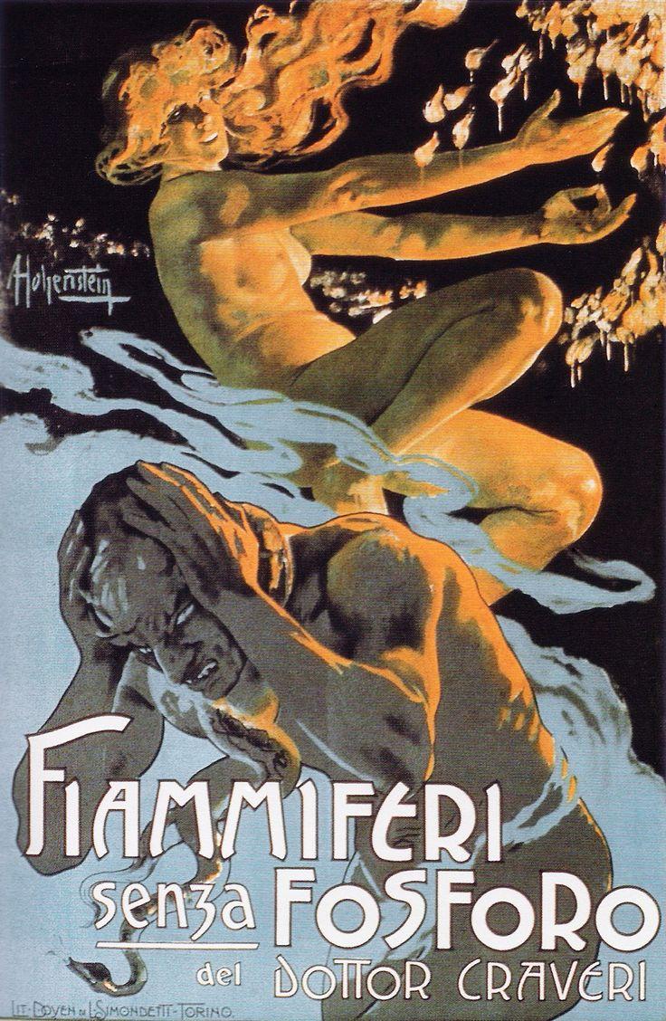 Fiammiferi senza fosforo (1905), Adolf Hohenstein