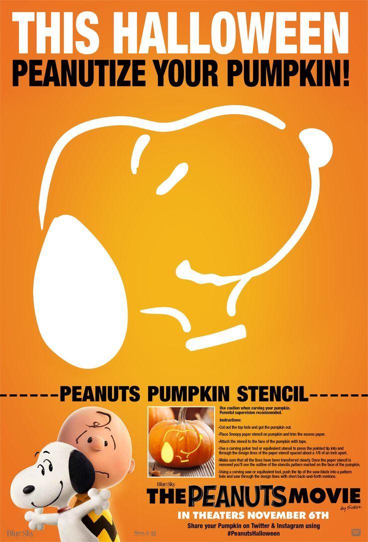 Wa walking dead pumpkin stencil - It S Scary How Fun This Peanuts Movie Pumpkin Carving Stencil Is