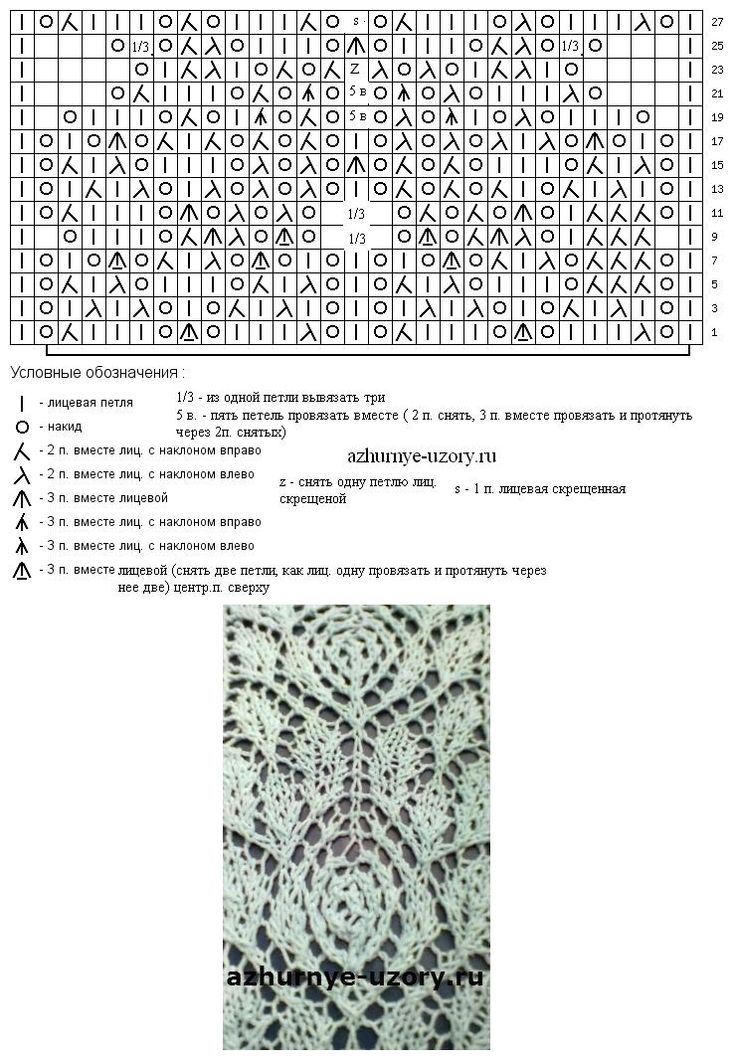 213 best Knitted Lace Patterns images on Pinterest | Knitting ...
