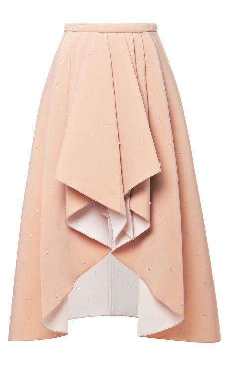Shop 3D Bead-Embellished Foam Skirt by Rodarte Now Available on Moda Operandi