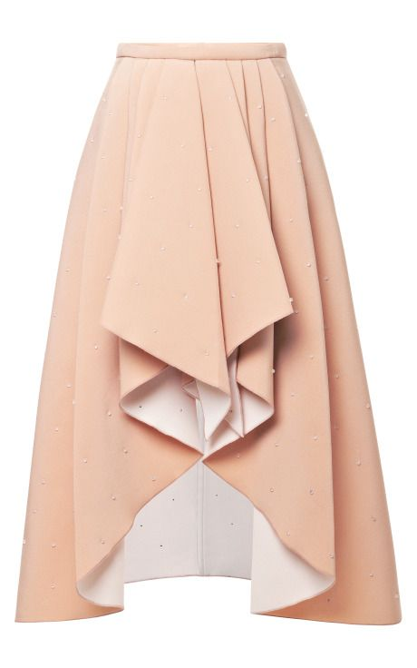 Shop 3D Bead-Embellished Foam Skirt by Rodarte Now Available on Moda Operandi