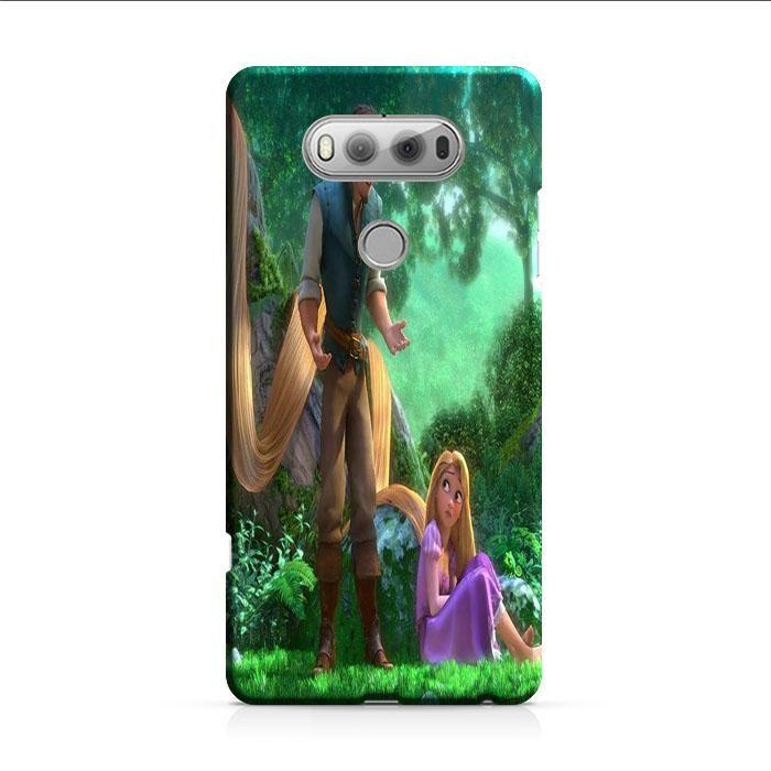 Tangled Cartoon Rapunzel LG V30 3D Case