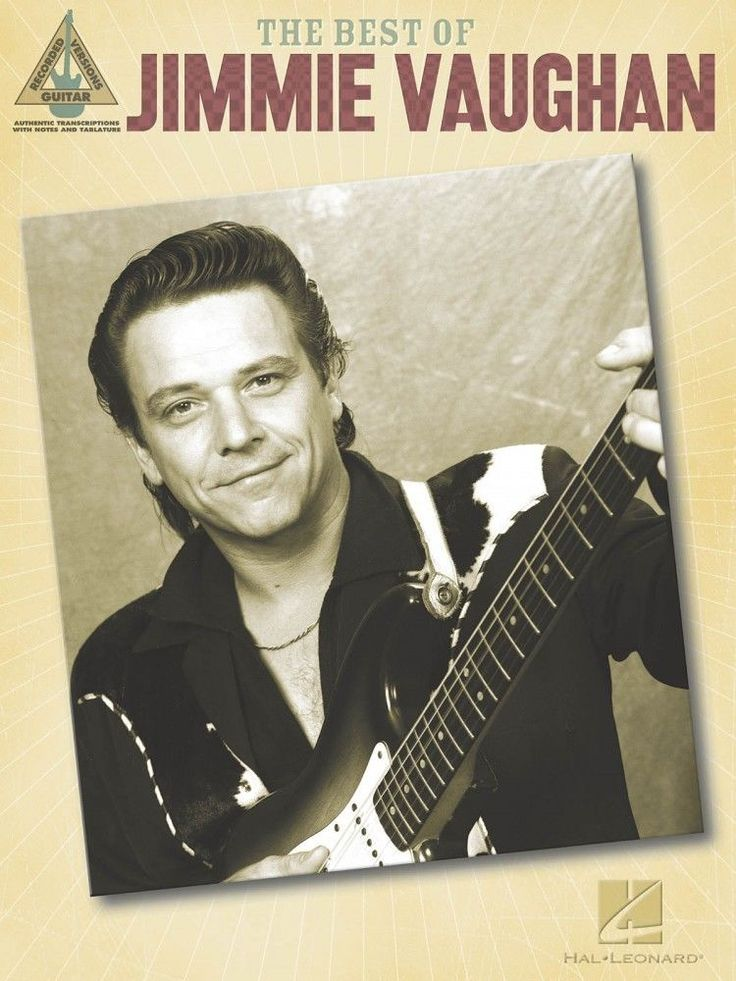 The Best of Jimmie Vaughan Sheet Music Guitar Tablature NEW 000690690