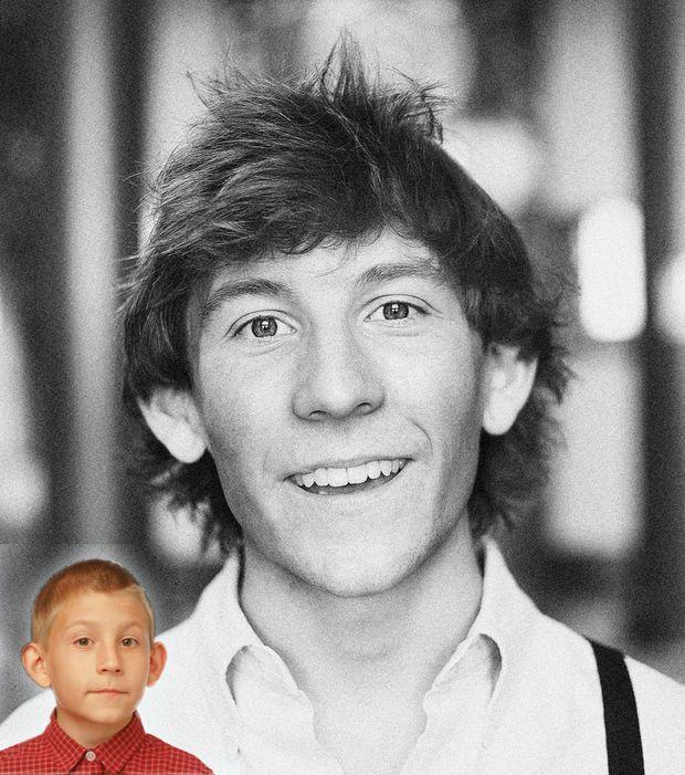 Le plus jeune de la fratrie, Dewey, était si mignon. Il était interprété par Erik Per Sullivan