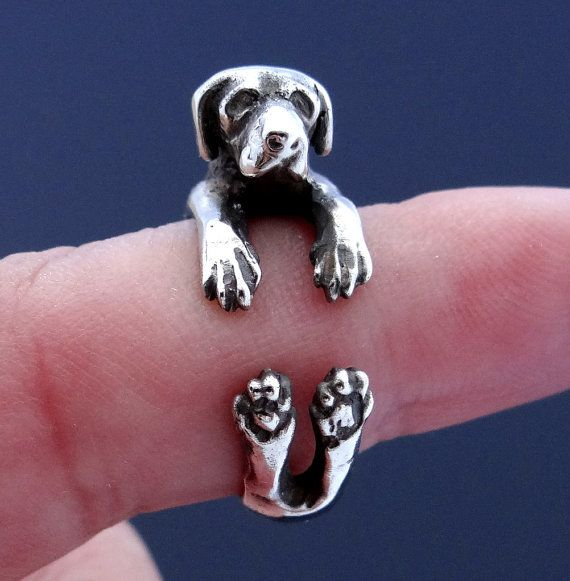 Great Dane Ring Sterling Silver Ring Great Dane Art by Inmmotion