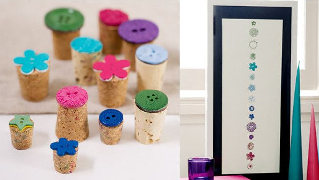 How to create button stamps