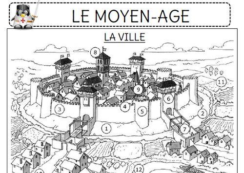 Les Villes Au Moyen  Ef Bf Bdge Cycle