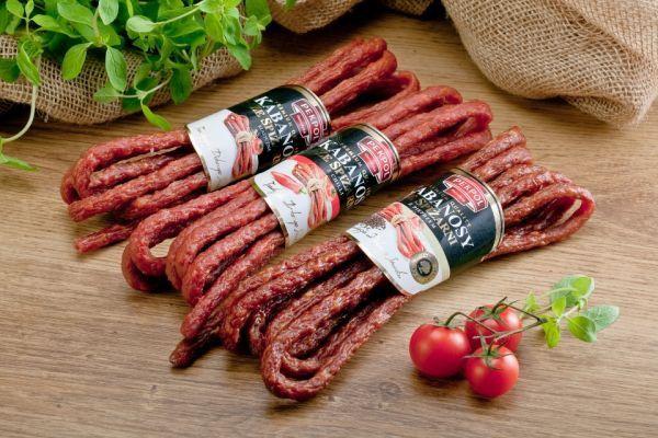 """""""Kabanosy ze spiżarni"""" ZM Pekpol w trzech smakach do wyboru: klasycznym oraz dwóch pikantnych: z pieprzem i z chilli."""