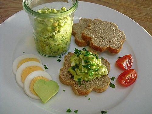 Avocado - Eier - Aufstrich (Rezept mit Bild) von miammm | Chefkoch.de