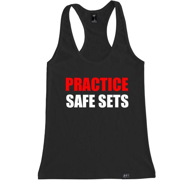 Women's PRACTICE SAFE SETS Racerback Tank Top