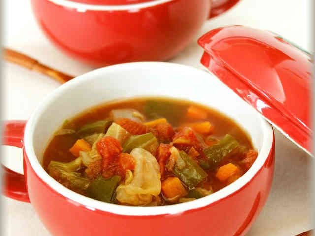 野菜たっぷり♪脂肪燃焼ダイエットスープの画像