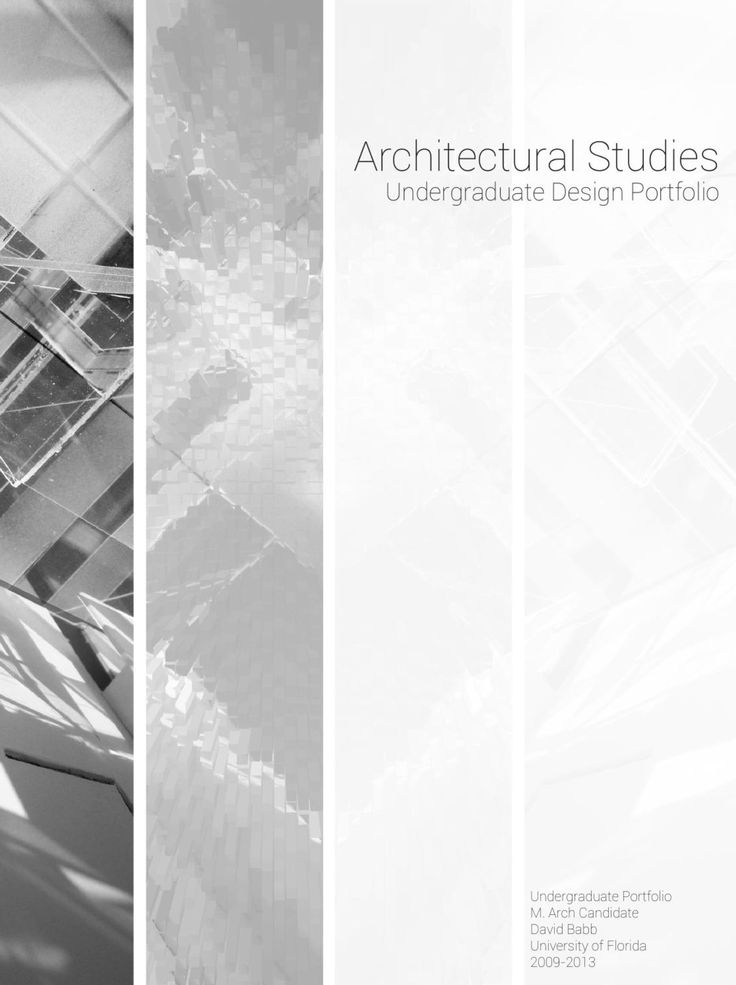 David Babb   Architecture portfolio