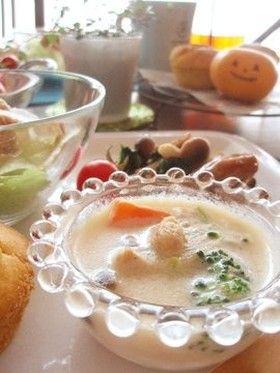 簡単豆乳クリームシチュー:アレルギー対応 by アレっ子母ゆうこりん ...