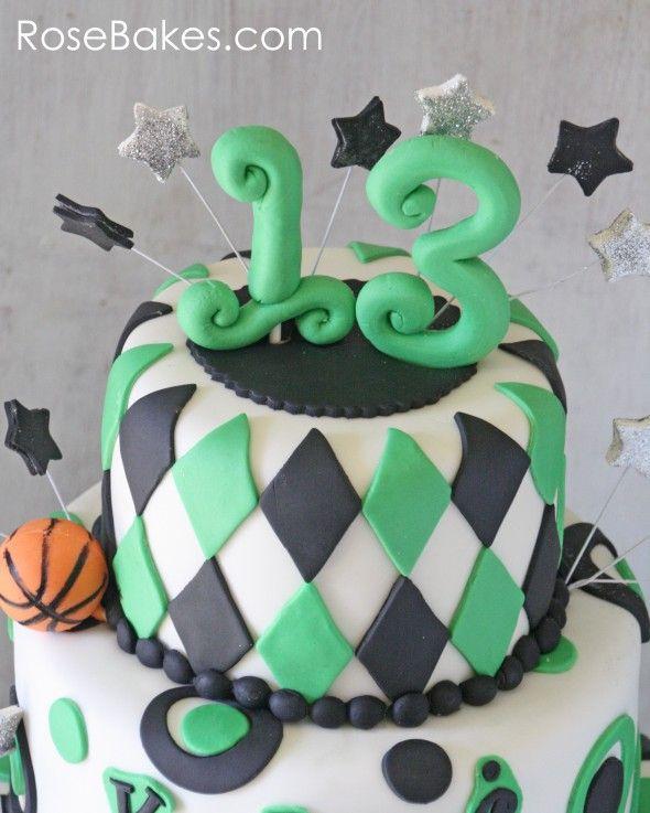 Cake Decor Numbers : Best 25+ Fondant numbers ideas on Pinterest Fondant ...