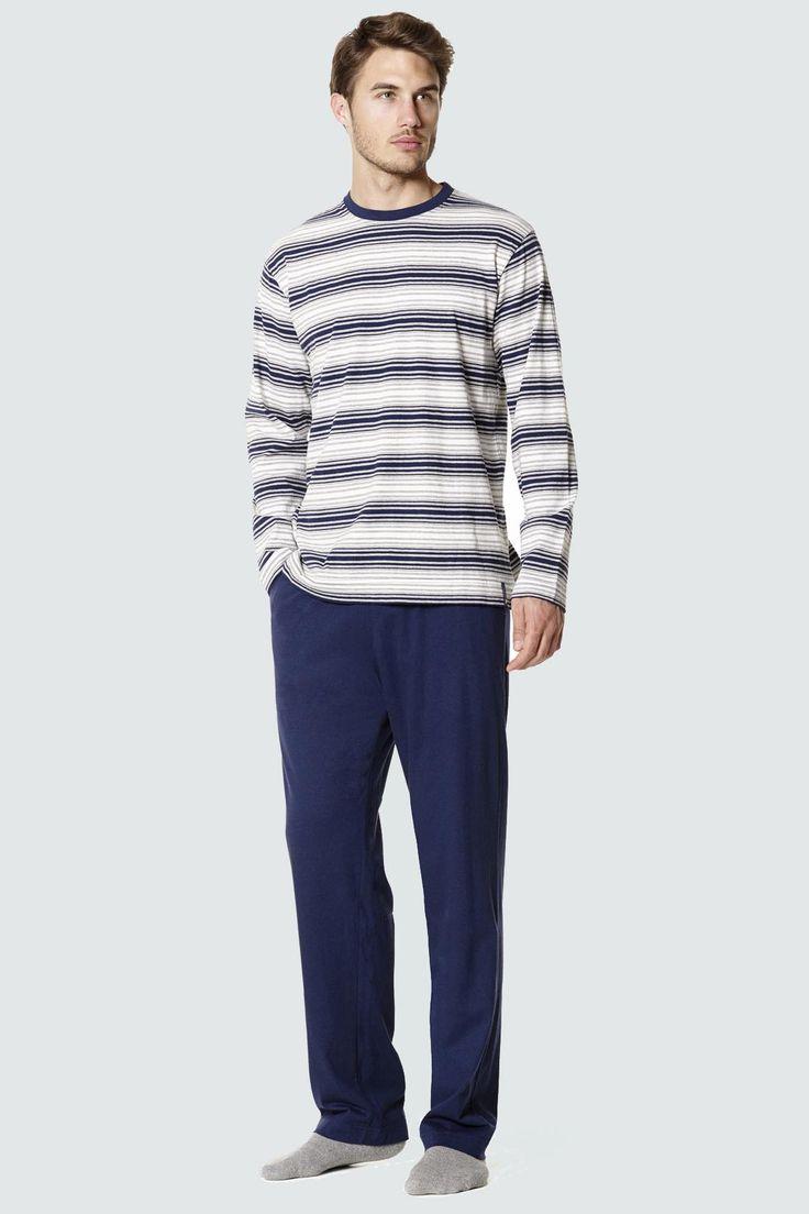 Pijama invierno hombre de la firma textil Punto Blanco modelo MYTH