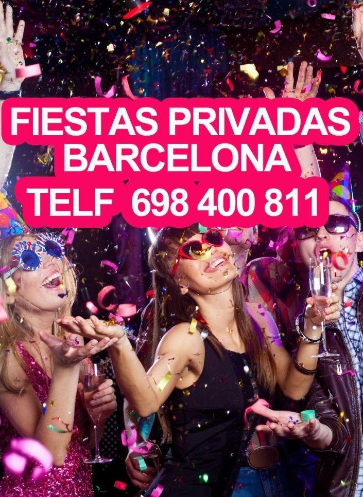 FIESTA PRIVADA BARCELONA es tu mejor opcion para realizar tus fiestas privadas en nuestros locales situados en el centro de barcelona contacto directo jordi 698400811fiestaprivadabarcelona.net