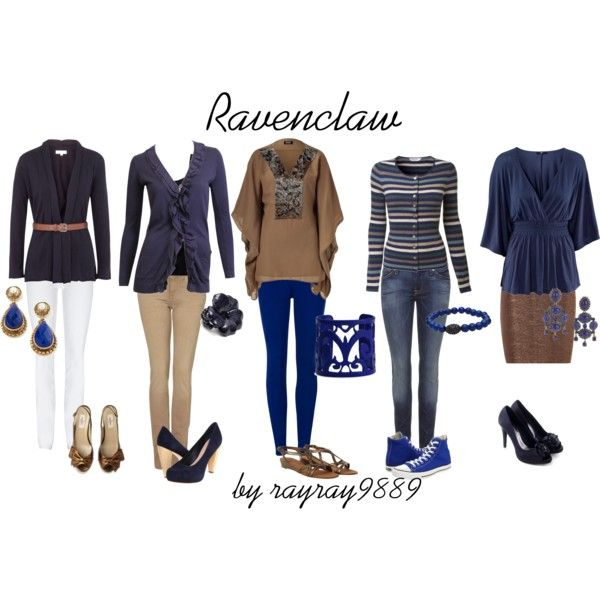 Ravenclaw, created by raven-ferrel on Polyvore