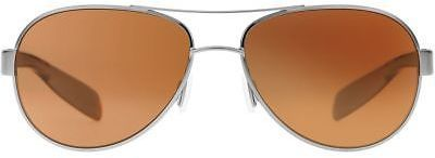 Native Eyewear Haskill Polarized Sunglasses Chrome / Maple Tort/Green Reflex One