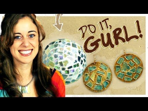 Coisas que Gosto: Transform Old CDs into Jewelry (or a Disco Ball)! ...