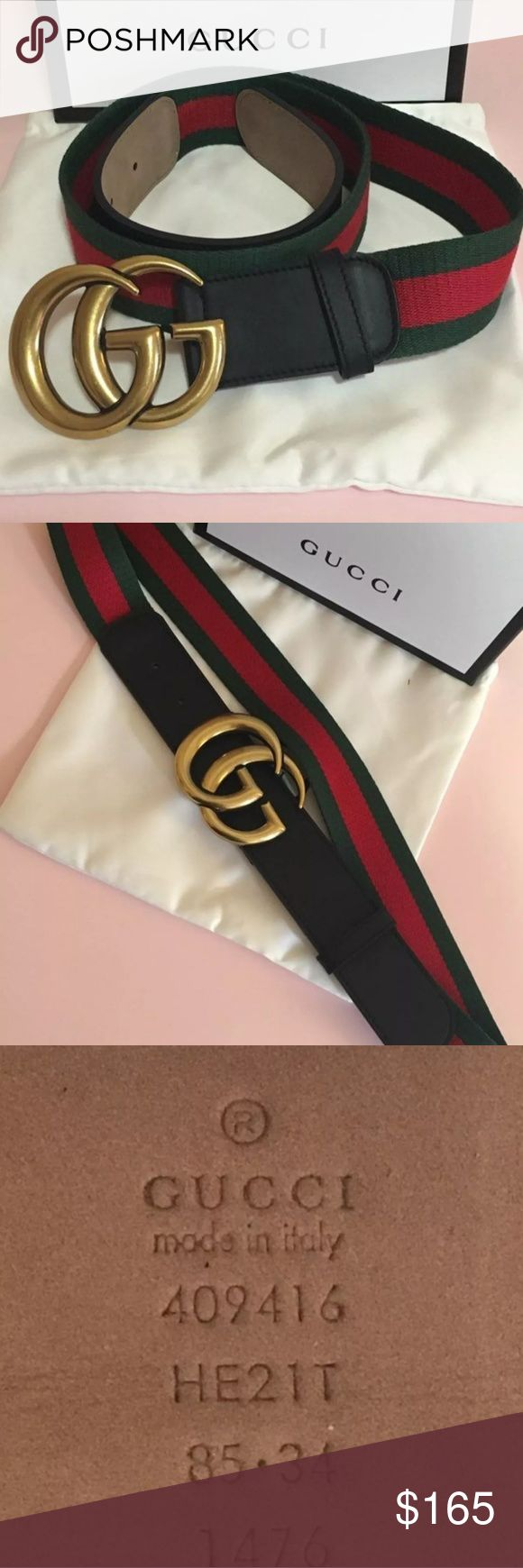 Brand New Gucc Belt Brand new Includes box,dust bag,shopping bag,and tags Brand New $177 w/shipping included For any questions nd to submit order dm me @bossboutique_ on IG Payment via cash app Gucci Accessories Belts