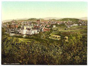 Hirschberg im Riesengebirge before 1946 when it was Germany