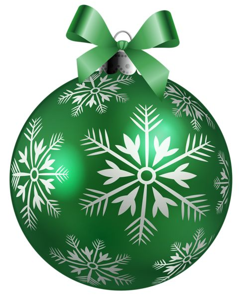 Large green christmas ball png clipart picture imágenes