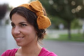 i dream of knitting: something with a bow