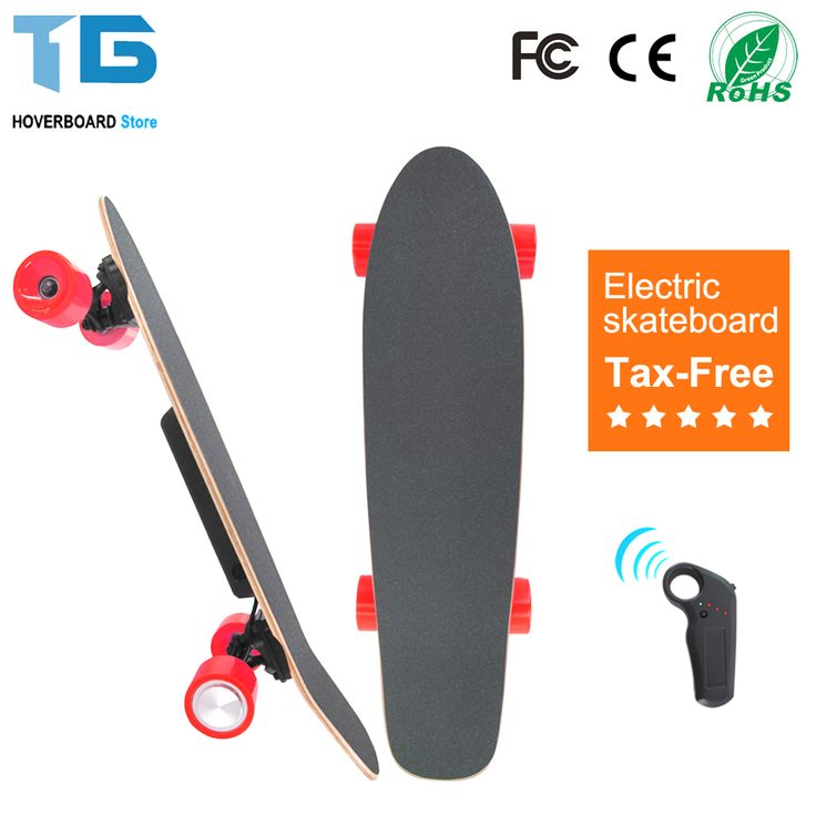 Buy Dual Motor Elecrric Fishboard Skateboard Cruiser Skate Board Remote Controller Longboard #Skateboard #Complete