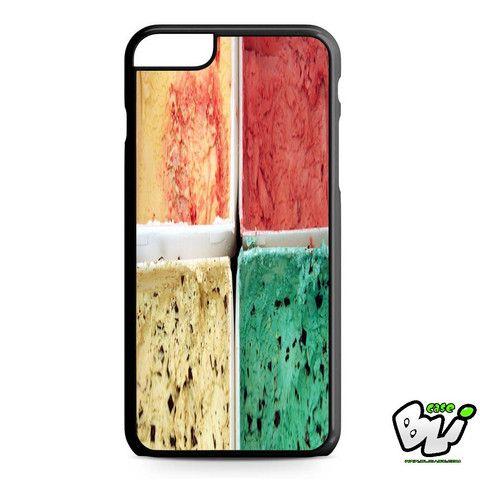 Ice Cream Vanilla Avocado Lemon iPhone 6 Plus Case | iPhone 6S Plus Case