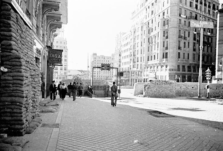 Spain - 1936. - GC - GC - Madrid - El Metro de Callao durante la Guerra Civil