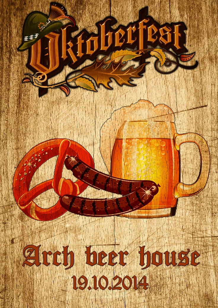 Oktoberfest 2014 @ Arch beer house, join the event here -->https://www.facebook.com/events/319101288274416/