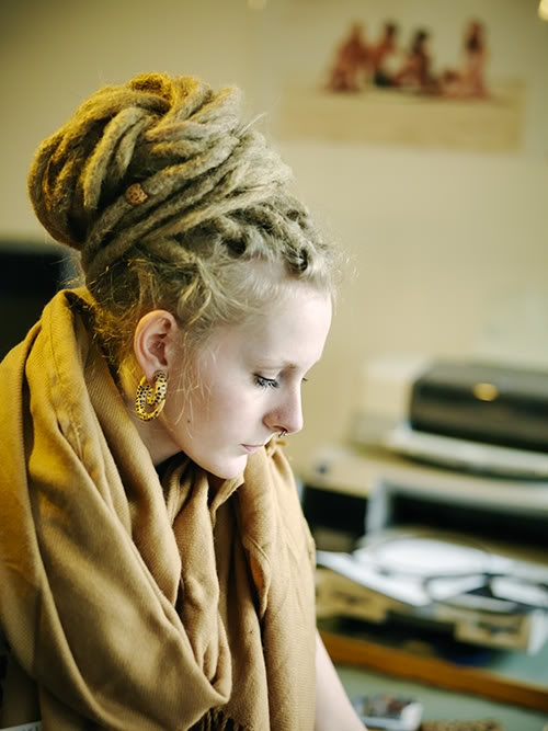 I wish I had the balls to get dreads I think they're amazeballs