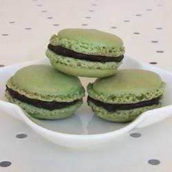 Pistachio Macaroons, again for Afternoon Tea on Sunday 29th January 2012