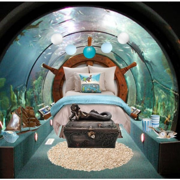 Literally Under The Sea Bedroom Cool Rooms Pinterest