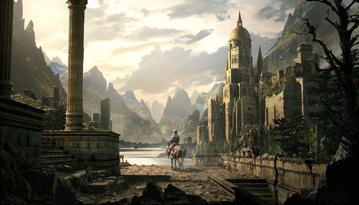 fantasy cities | Fantasy - City Wallpaper