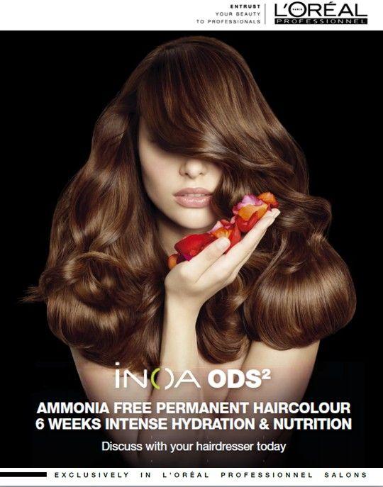 INOA Ammonia Free permanent haircolour