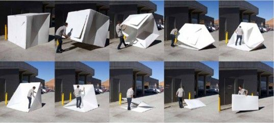 Alastair Pryor's, Compact Shelters, pop up emergency tents, disaster design, emergency design, collapsible shelters, emergency shelter design, shelter design, foldable crisis relief shelter, portable shelters