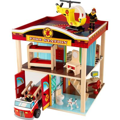 KidKraft Rotating Fire Station - Best doll house for boys!!!