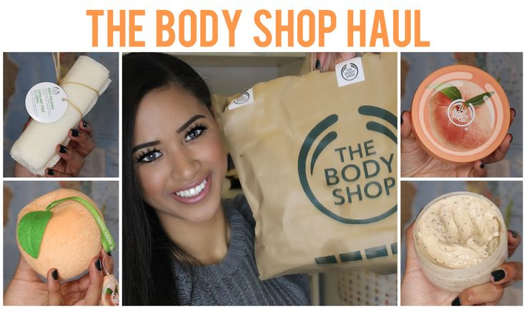 The Body Shop Haul ♡ Skincare & Bodycare ♥ Jaydee Stone
