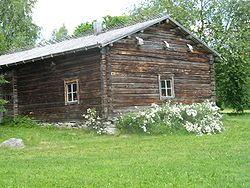 The original homestead of Paavo Ruotsalainen in Aholansaari, Nilsiä.