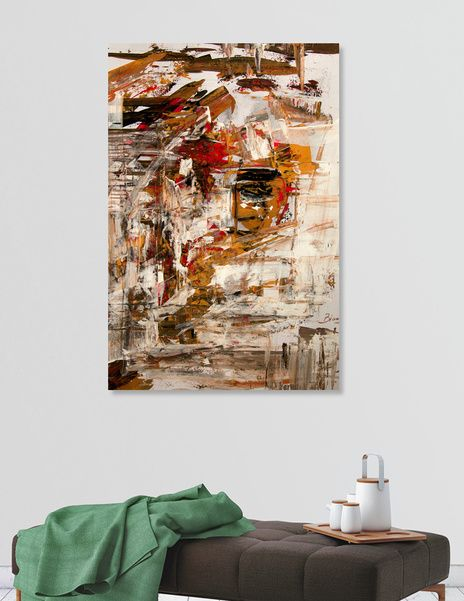 """Discover «""""Blind Ego""""», Exclusive Edition Canvas Print by Bianca  Paraschiv Art - From $59 - Curioos"""