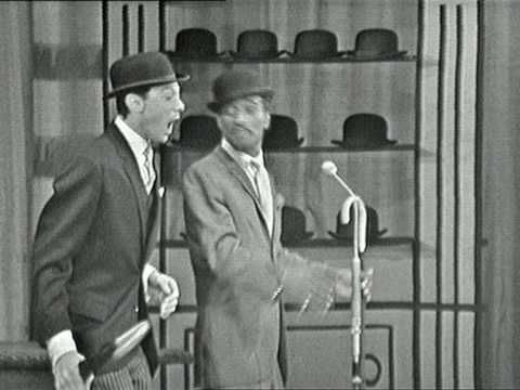 Lionel Blair and Sammy Davis Jr - Royal Variety Performance - 1961